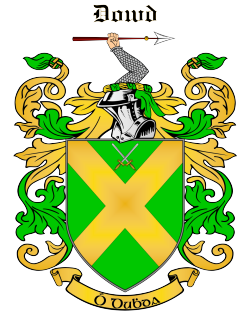 DOWD family crest