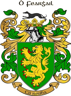 FARRELL family crest