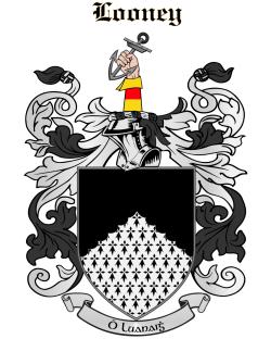 LOONEY family crest