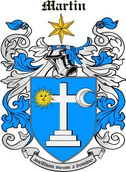 MARTYN family crest