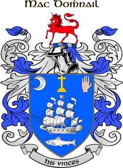 MCDONNELL family crest