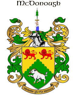 MCDONOUGH family crest