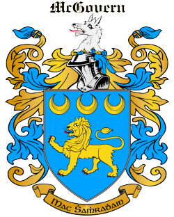 MCGOVERN family crest