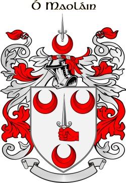 MULLANE family crest