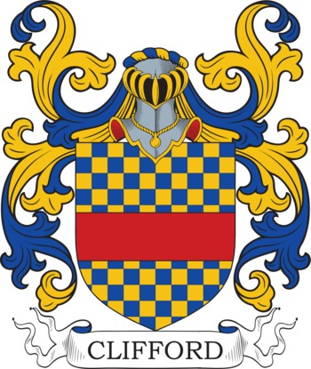 CLIFFORD family crest