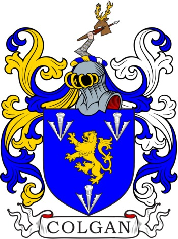 COLGAN family crest