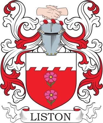 LISTON family crest
