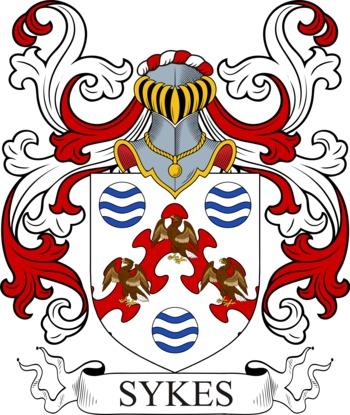 SYKES family crest