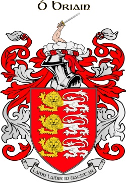 O'BRIEN family crest