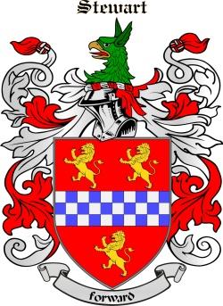 STEWART family crest