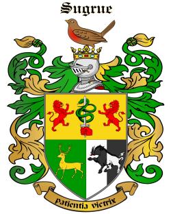 SUGRUE family crest