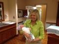 Baby Callum Donovan with Nana Brenda McFague Donovan